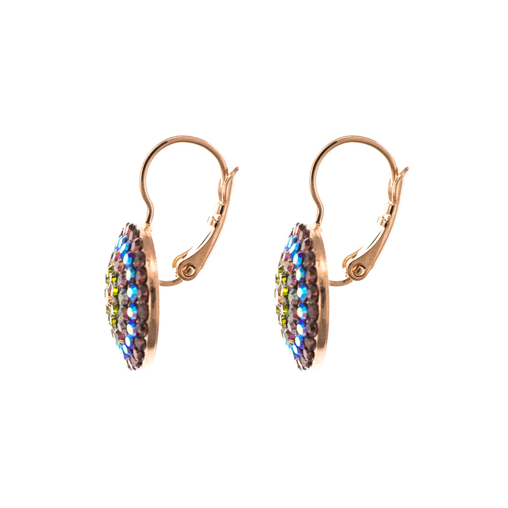 Penelope-Odyssey Collection Rose Gold Plated Earrings-1193-1089RG6