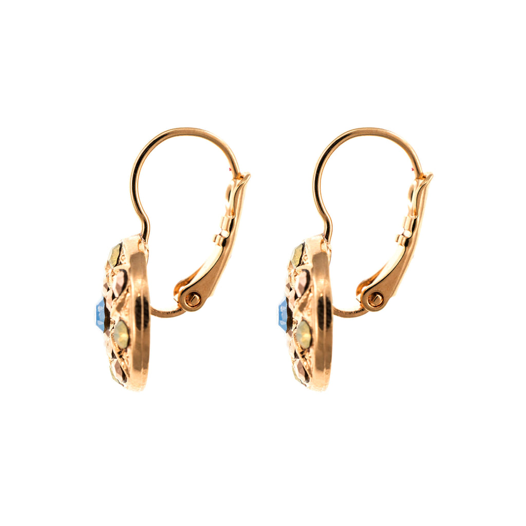Rhapsode-Odyssey Collection Rose Gold Plated Earrings-1218-1092RG6