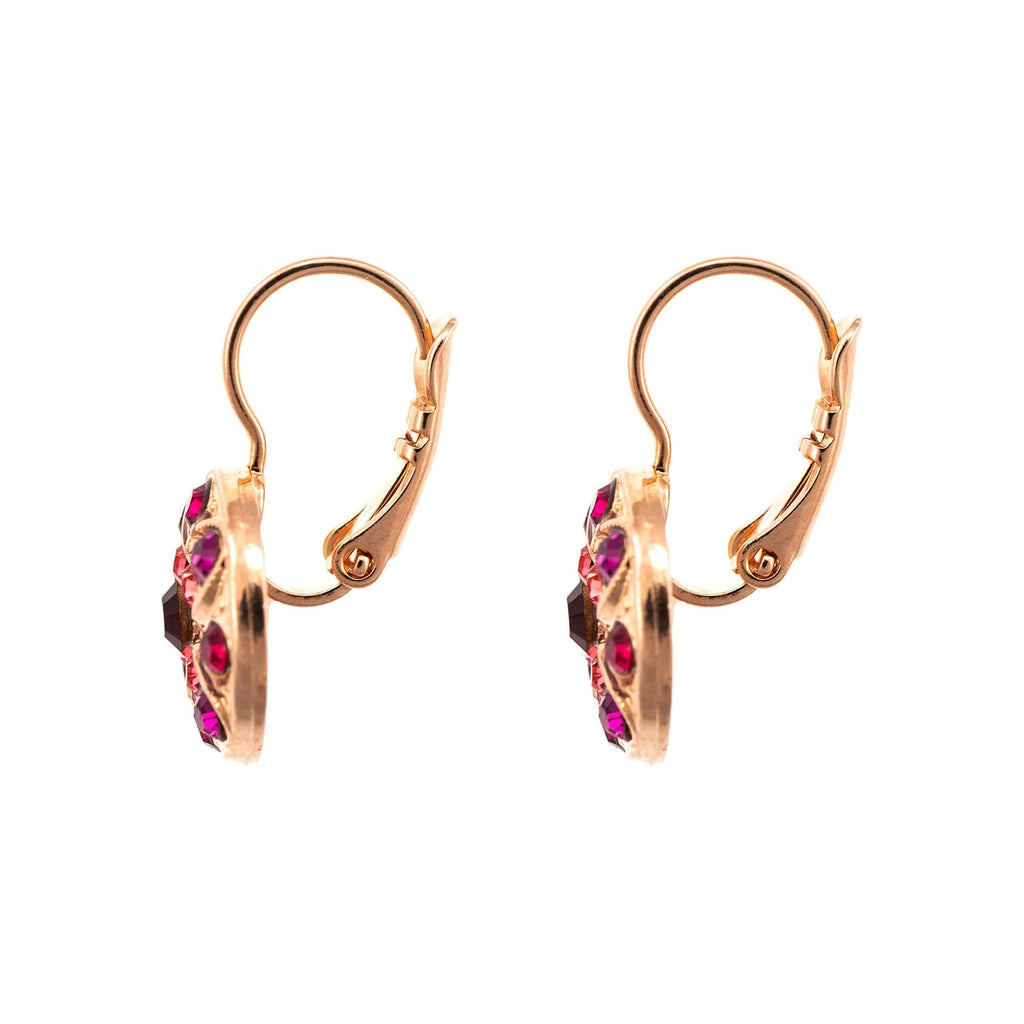 FireFly Collection Rose Gold Plated Earrings-1218-2140RG6