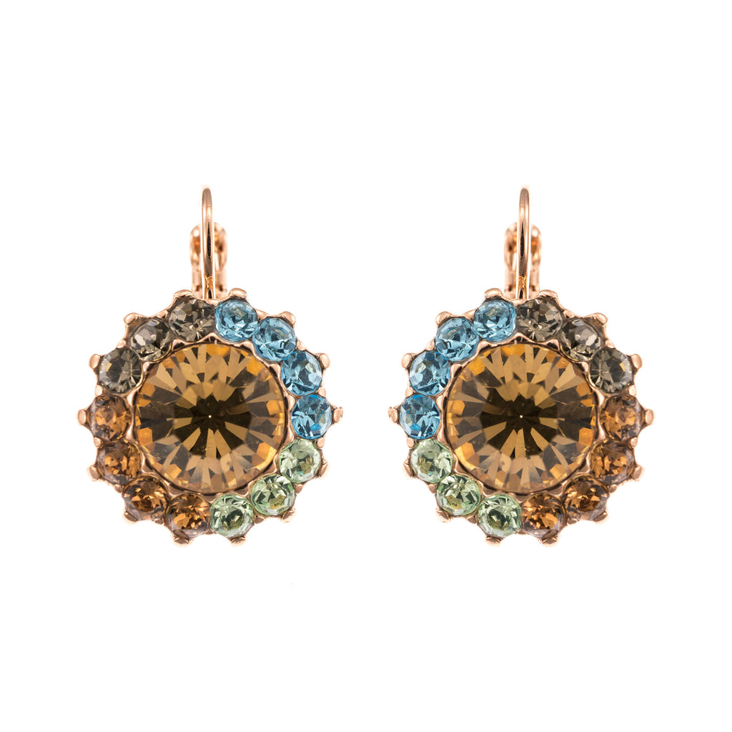 Mariana Rose Gold Plated Earrings | Roxanne's Jewellery | 1329RG6