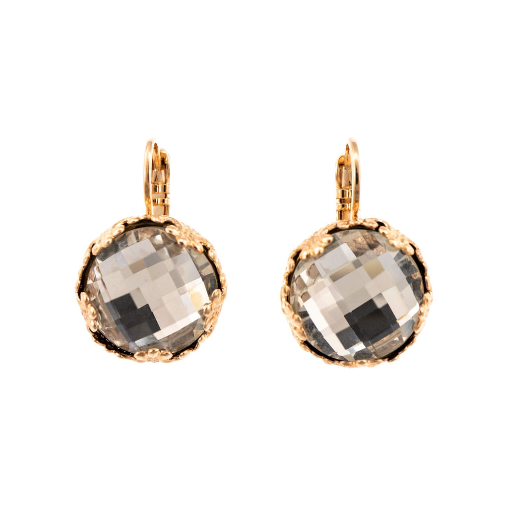Mariana Rose Gold Plated Earrings | Roxanne's Jewellery | 001ARG6