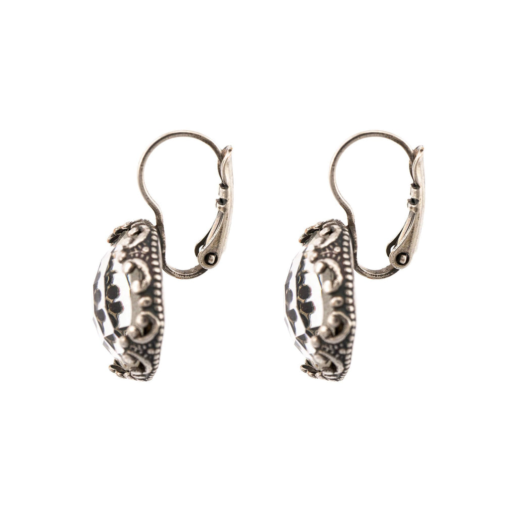 On a Clear Day Collection Silver Plated Earrings-1374-001ASP6