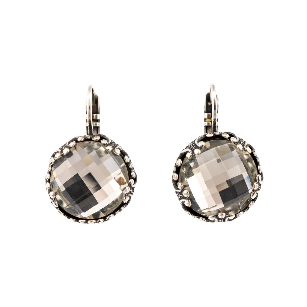 Mariana Silver Plated Earrings | Roxanne's Jewellery | 001ASP6