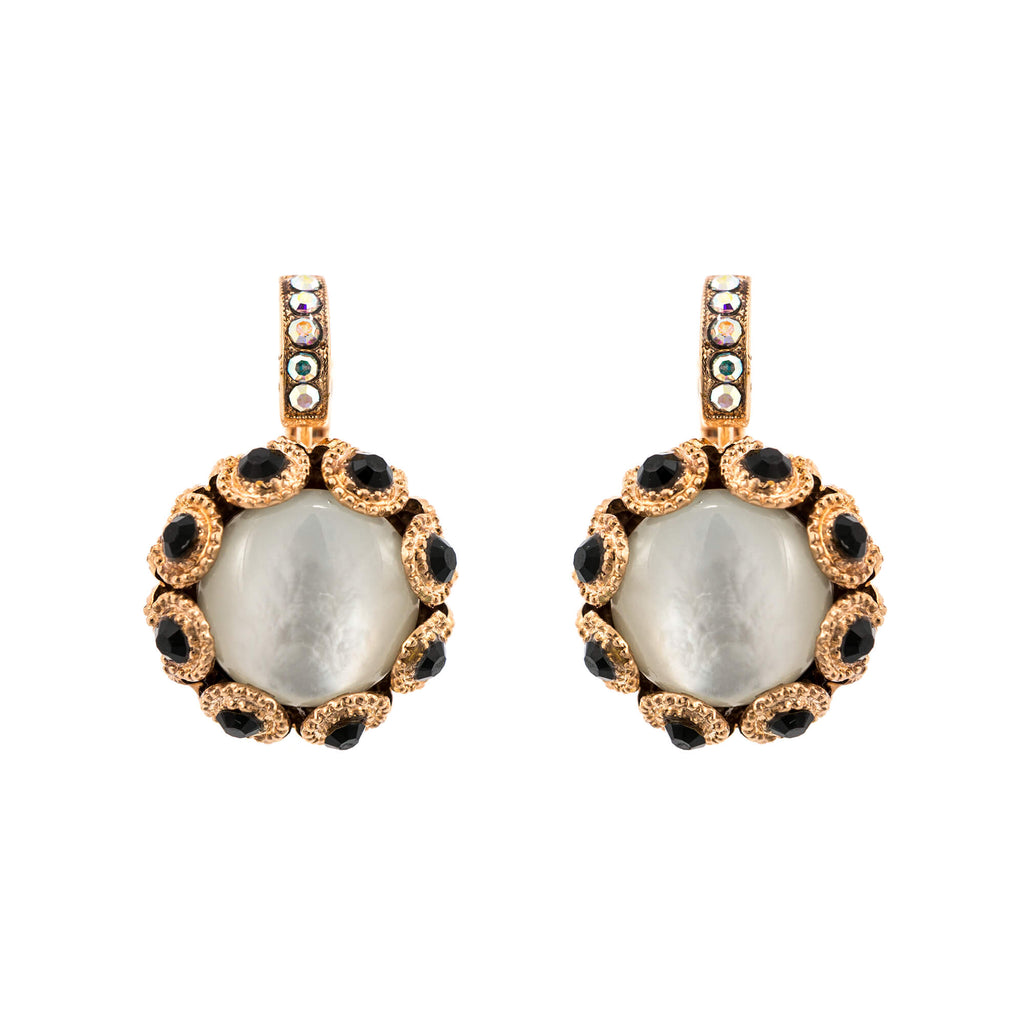 Mariana Rose Gold Plated Earrings | Roxanne's Jewellery | M87-3RG6