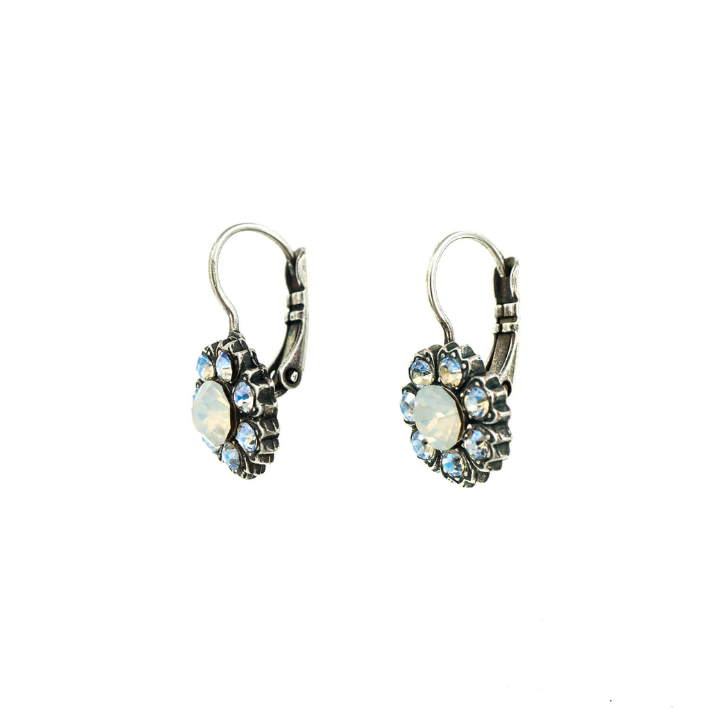 Forever Collection Silver Plated Earrings-1411/2-5087SP6