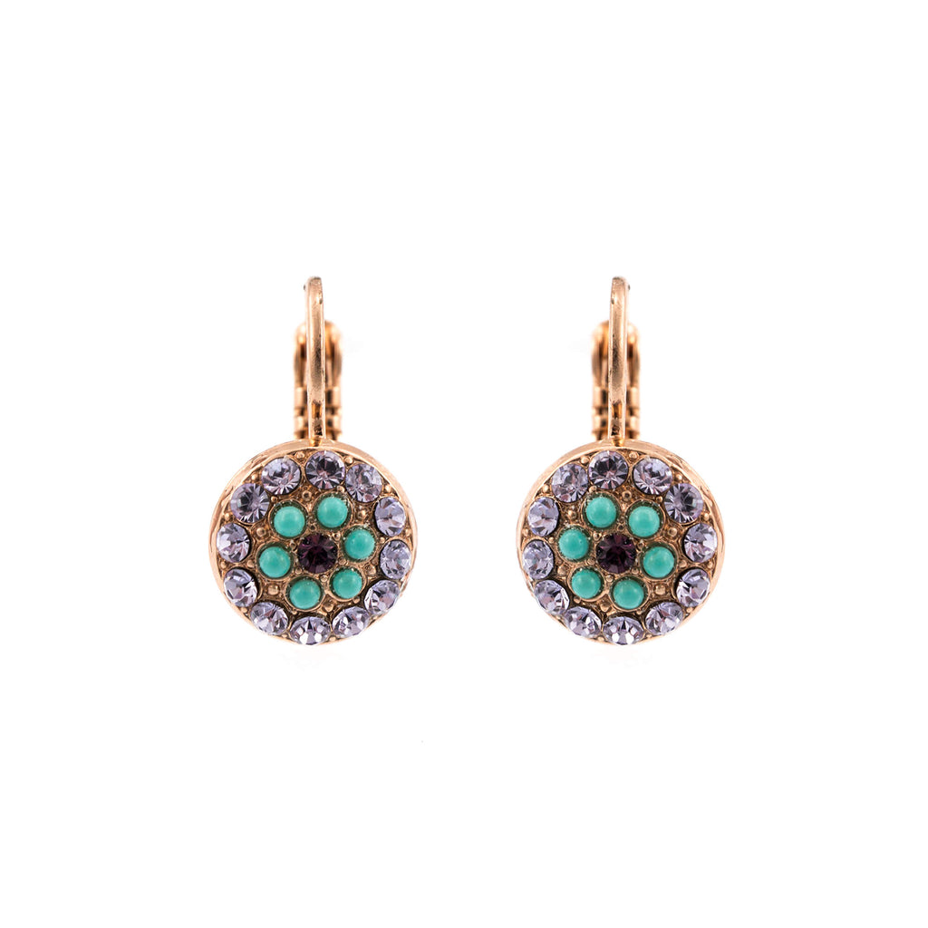 Mariana Rose Gold Plated Earrings | Roxanne's Jewellery | 1107RG6
