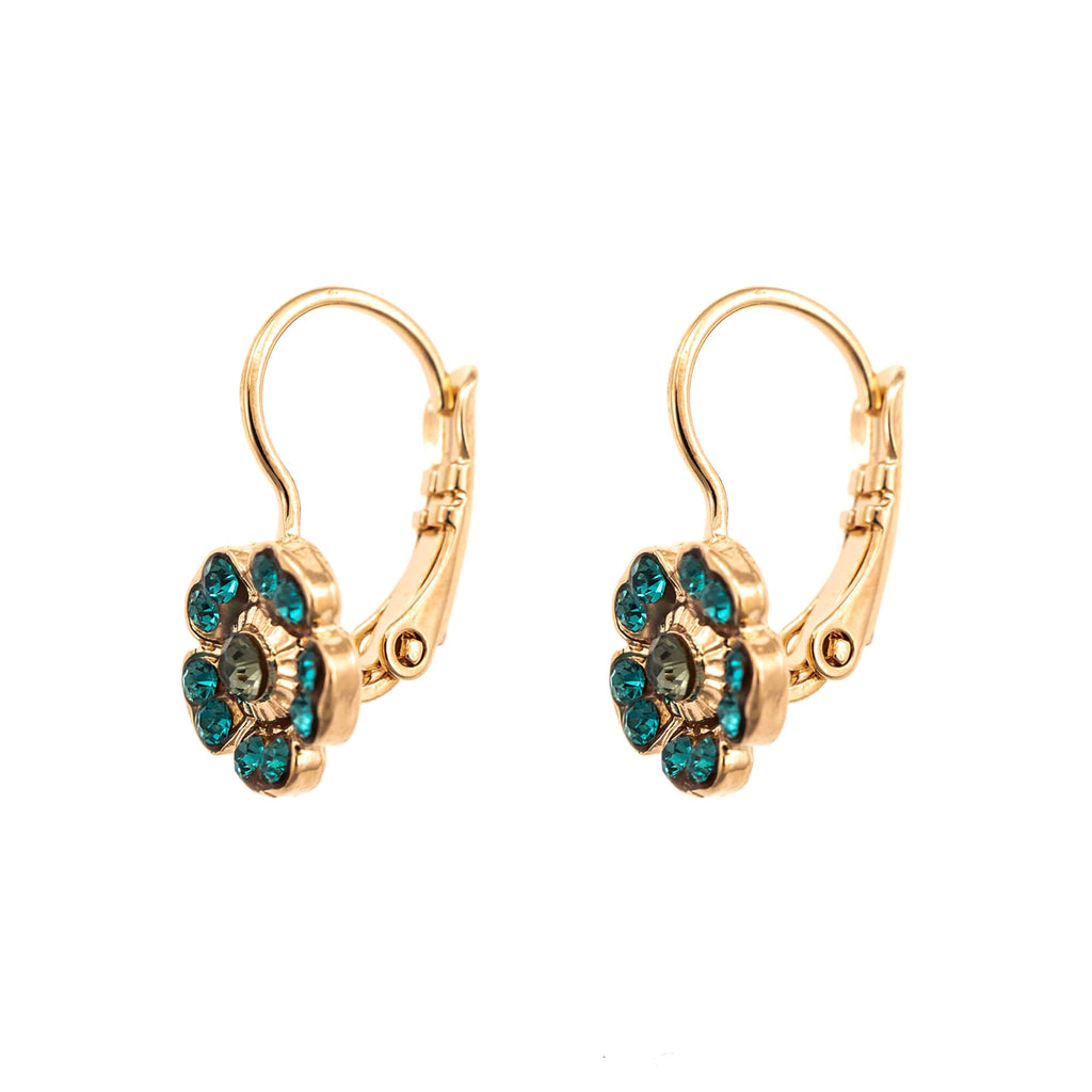 Nightfall Collection Rose Gold Plated Earrings-1504/2-1114RG6