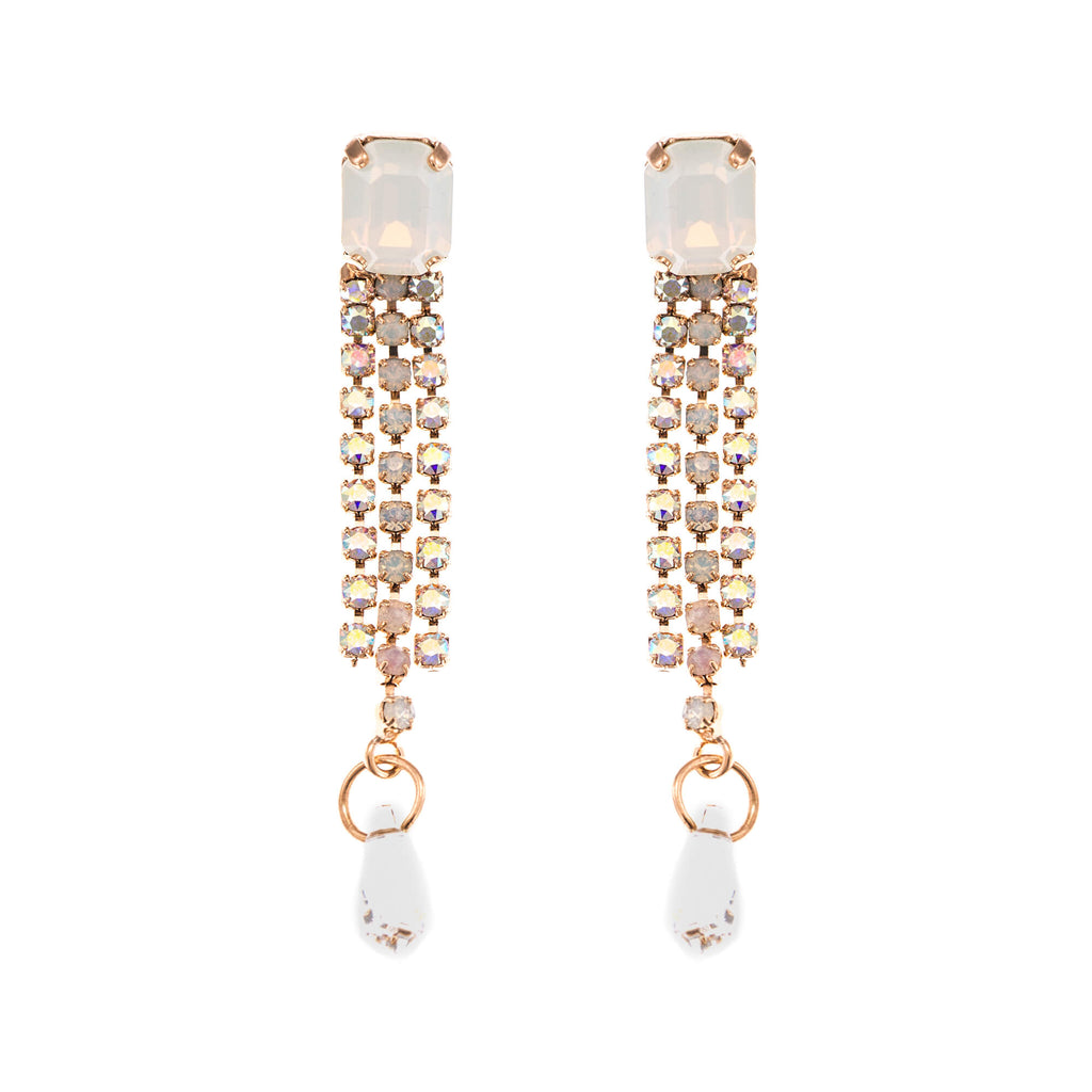 Mariana Rose Gold Plated Earrings | Roxanne's Jewellery | M1201RG2