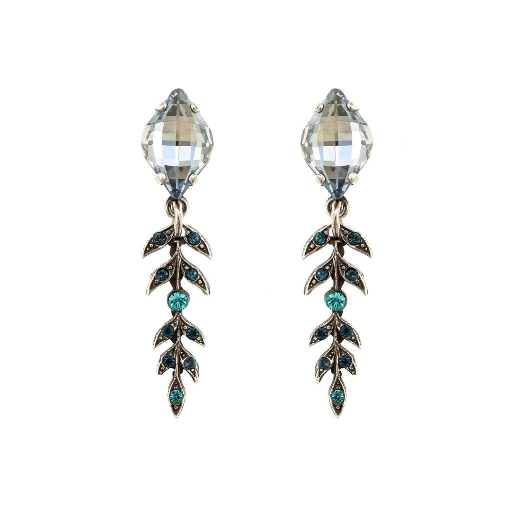 Mariana Silver Plated Earrings | Roxanne's Jewellery | 1114SP2