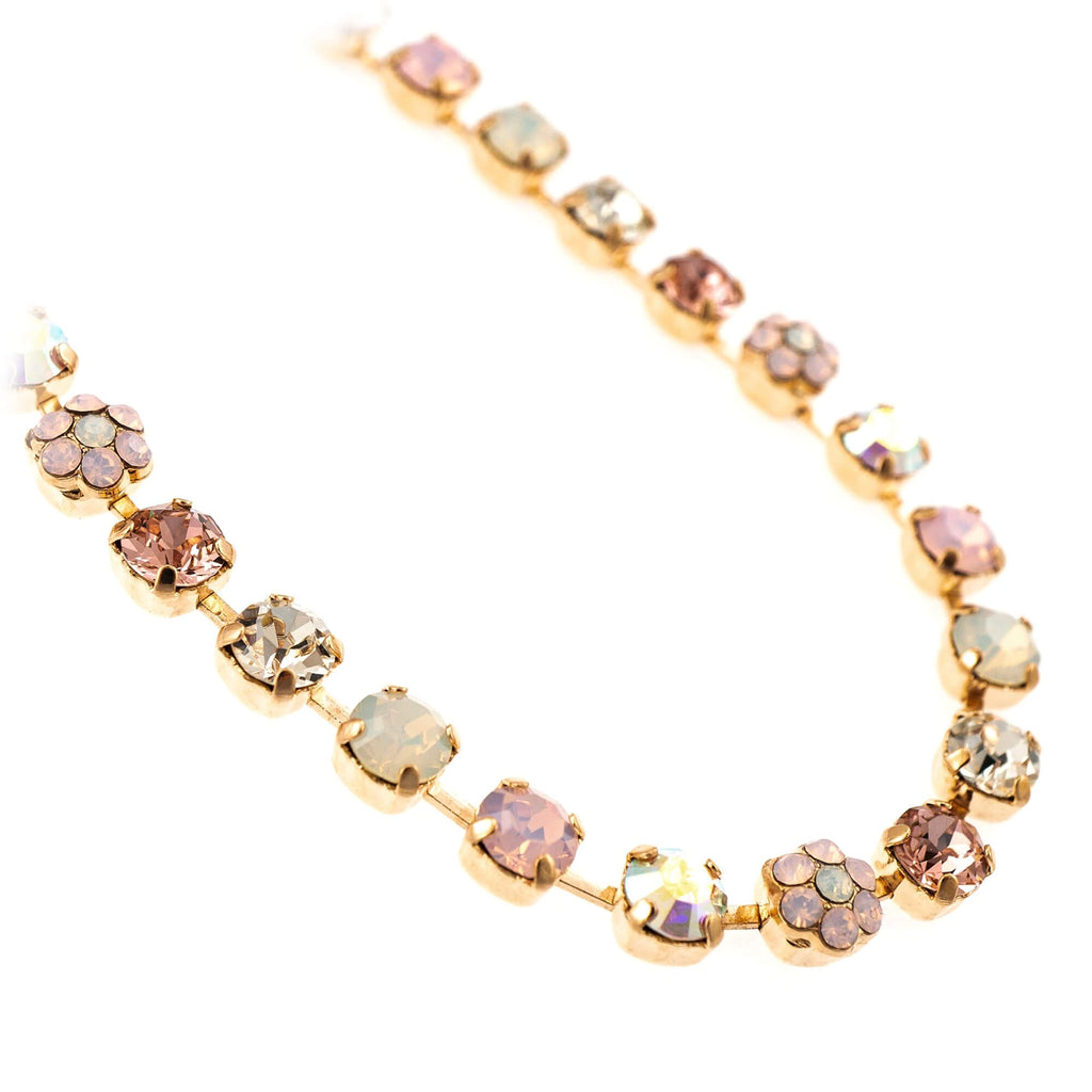 Aura Collection Rose Gold Plated Necklace-3008/1-1112RG