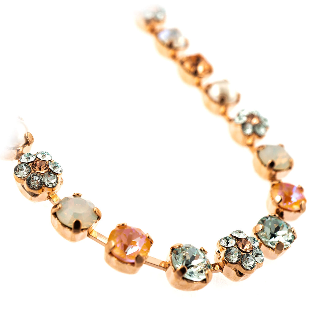 Gardenia Collection Rose Gold Plated Necklace-3008/2-1913RG