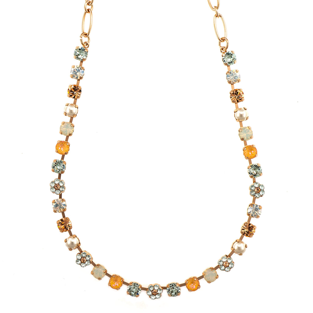 Mariana Rose Gold Plated Necklace | Roxanne's Jewellery | 1913RG