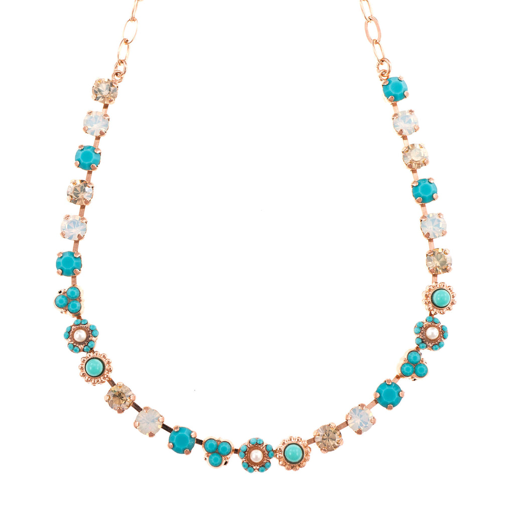 Mariana Rose Gold Plated Necklace | Roxanne's Jewellery | 807RG