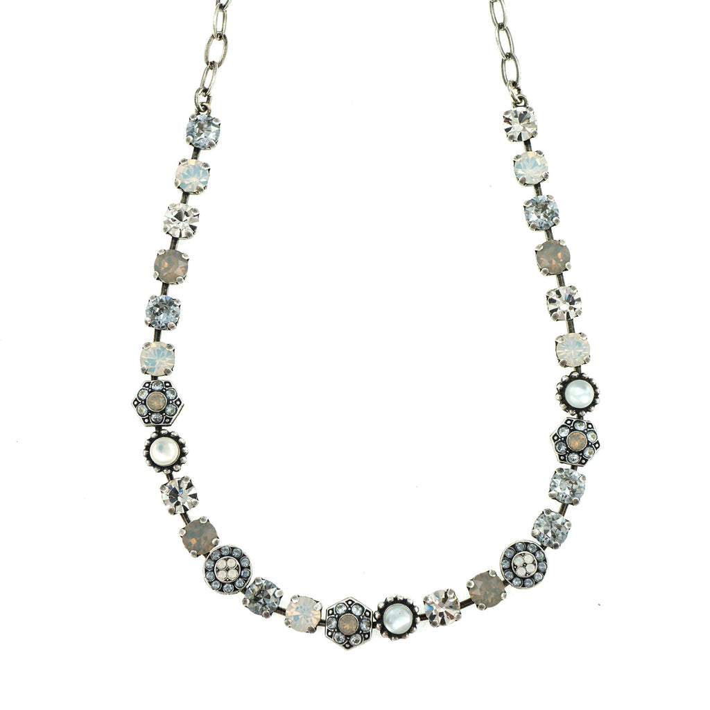 Mariana Silver Plated Necklace | Roxanne's Jewellery | 1049SP