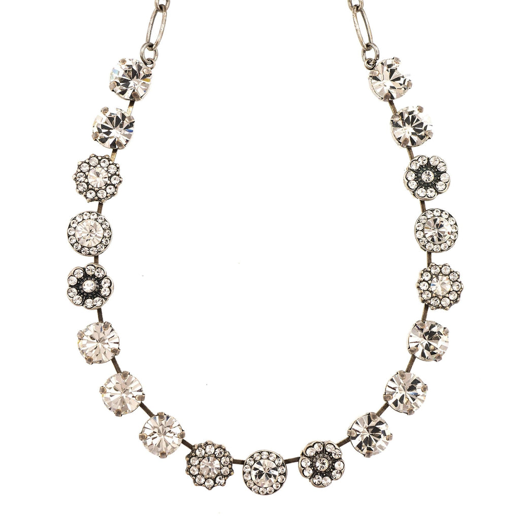 Mariana Silver Plated Necklace | Roxanne's Jewellery | 001001SP