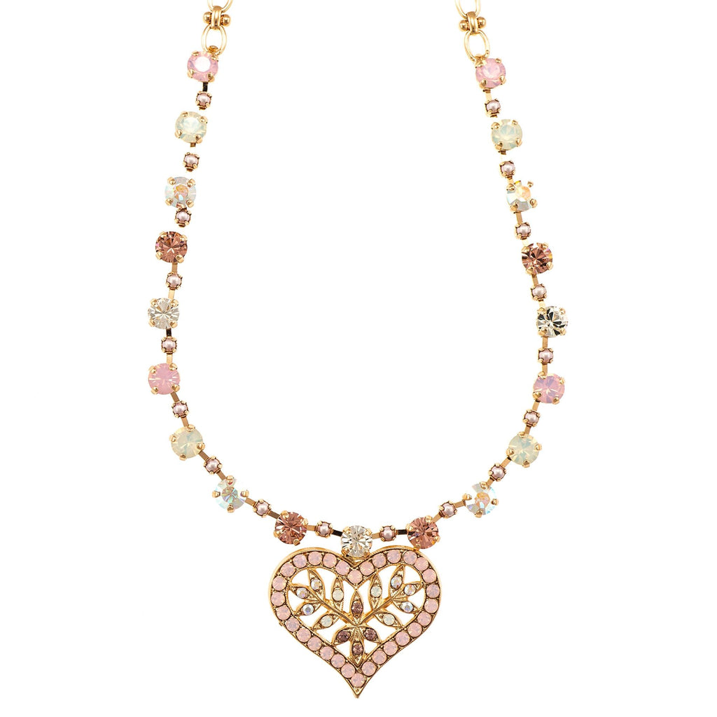 Mariana Rose Gold Plated Necklace | Roxanne's Jewellery | 1112RG