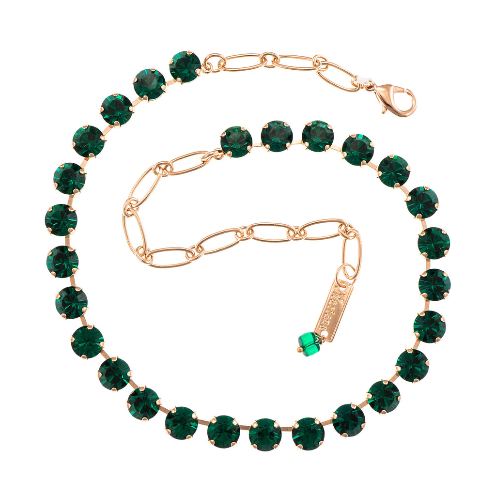 Emerald Collection Rose Gold Plated Necklace-3252-205205RG
