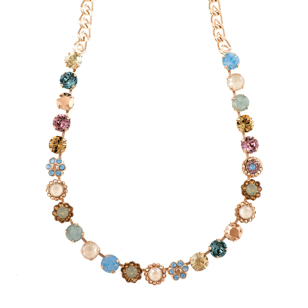 Mariana Rose Gold Plated Necklace | Roxanne's Jewellery | 1092RG