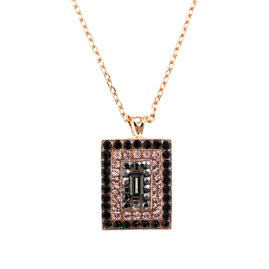 Mariana Rose Gold Plated Pendant Necklace | Roxanne's Jewellery | 1073RG