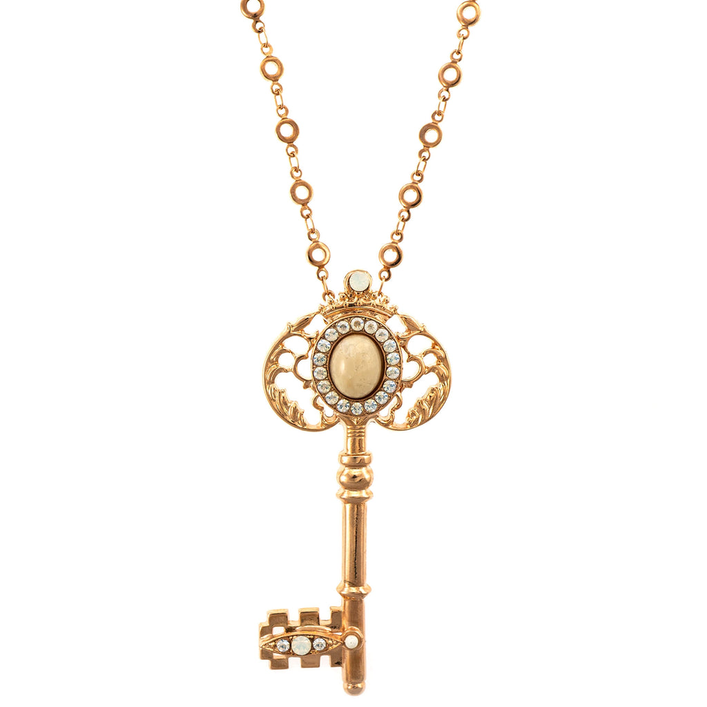 Mariana Rose Gold Plated Pendant Necklace | Roxanne's Jewellery | M5087RG