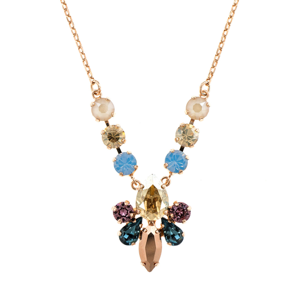 Mariana Rose Gold Plated Pendant Necklace | Roxanne's Jewellery | 1092RG