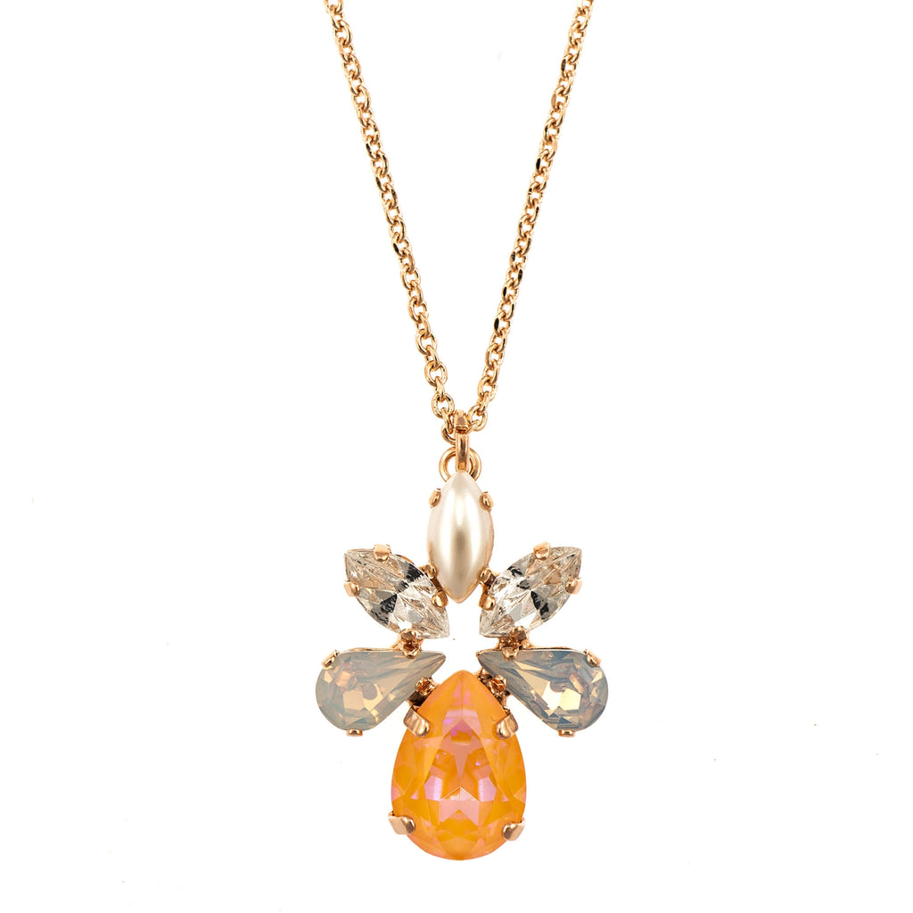 Mariana Rose Gold Plated Pendant Necklace | Roxanne's Jewellery | 1913RG