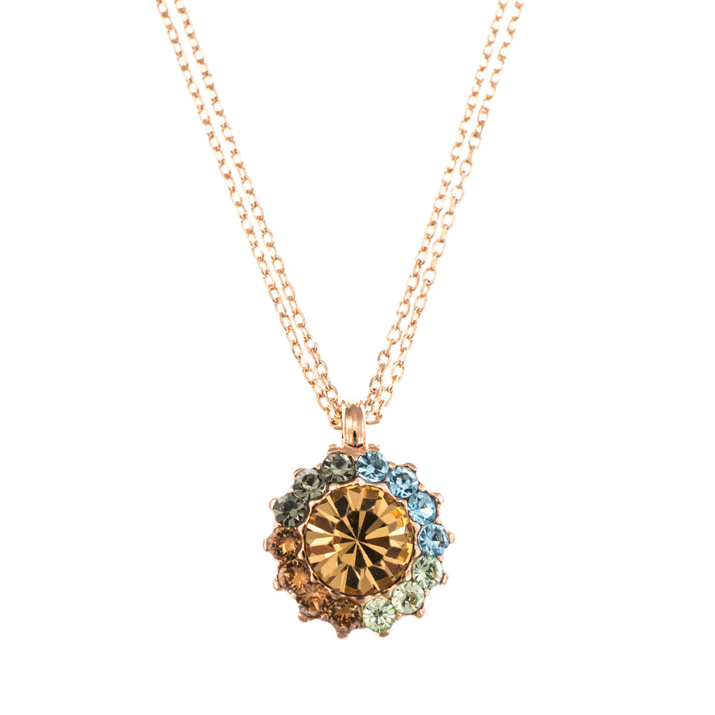 Mariana Rose Gold Plated Pendant Necklace | Roxanne's Jewellery | 1329RG