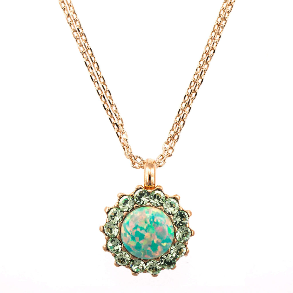 Mariana Rose Gold Plated Pendant Necklace | Roxanne's Jewellery | M2143RG