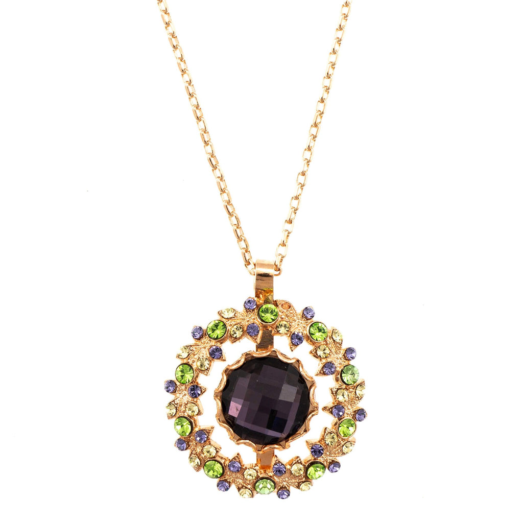 Mariana Rose Gold Plated Pendant Necklace | Roxanne's Jewellery | 1117RG
