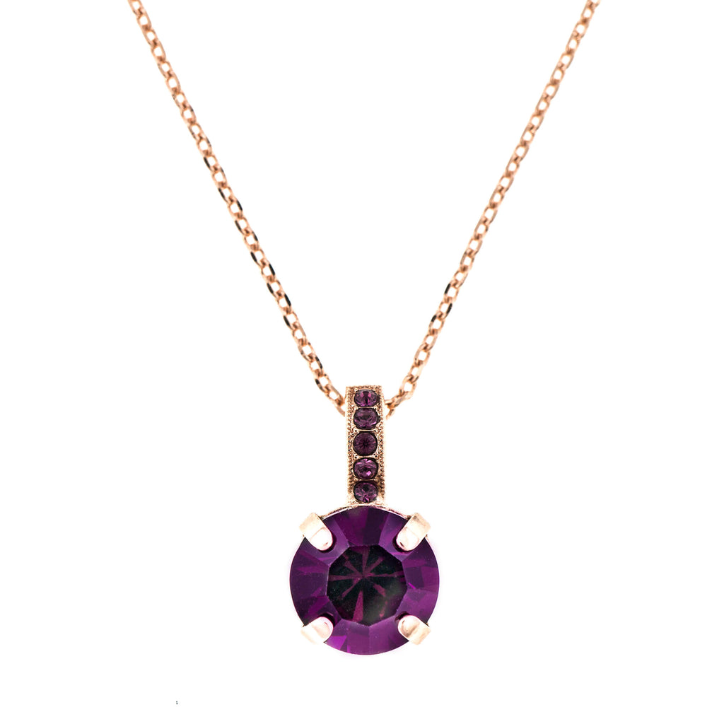 Mariana Rose Gold Plated Pendant Necklace | Roxanne's Jewellery | 204204RG