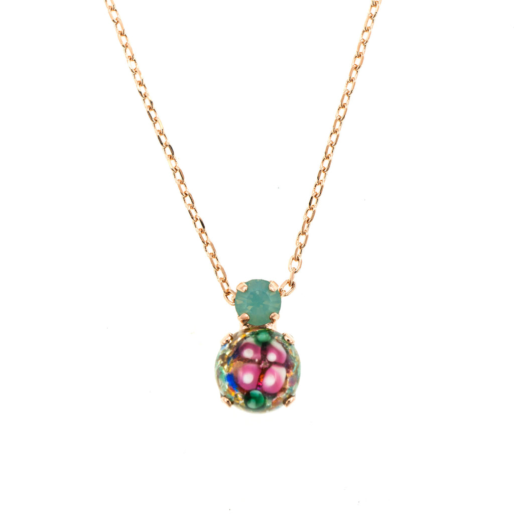 Mariana Rose Gold Plated Pendant Necklace | Roxanne's Jewellery | 0022RG