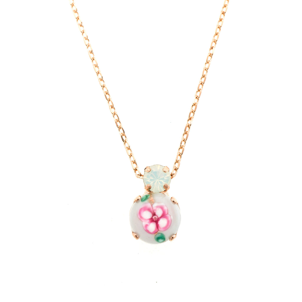 Mariana Rose Gold Plated Pendant Necklace | Roxanne's Jewellery | 04863RG