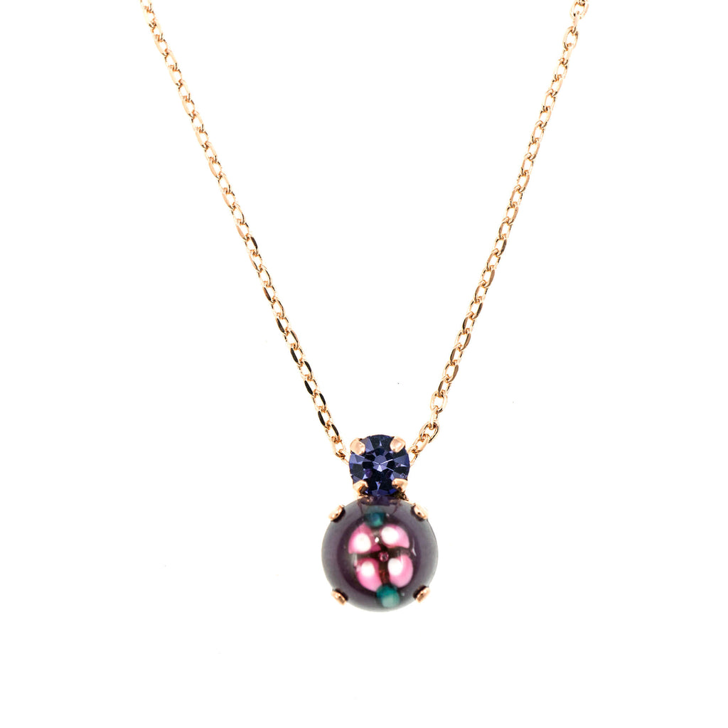 Mariana Rose Gold Plated Pendant Necklace | Roxanne's Jewellery | 204RG