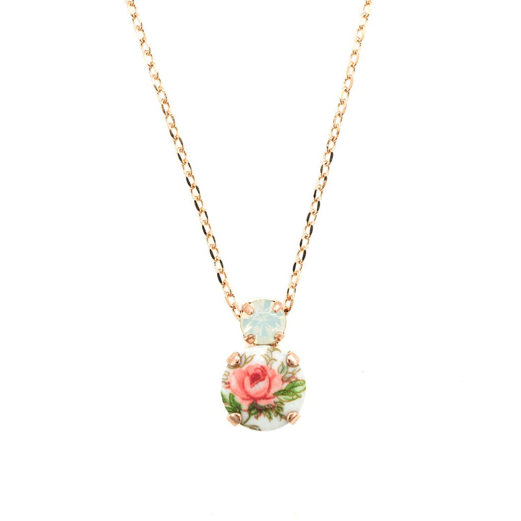 Mariana Rose Gold Plated Pendant Necklace | Roxanne's Jewellery | 234RG