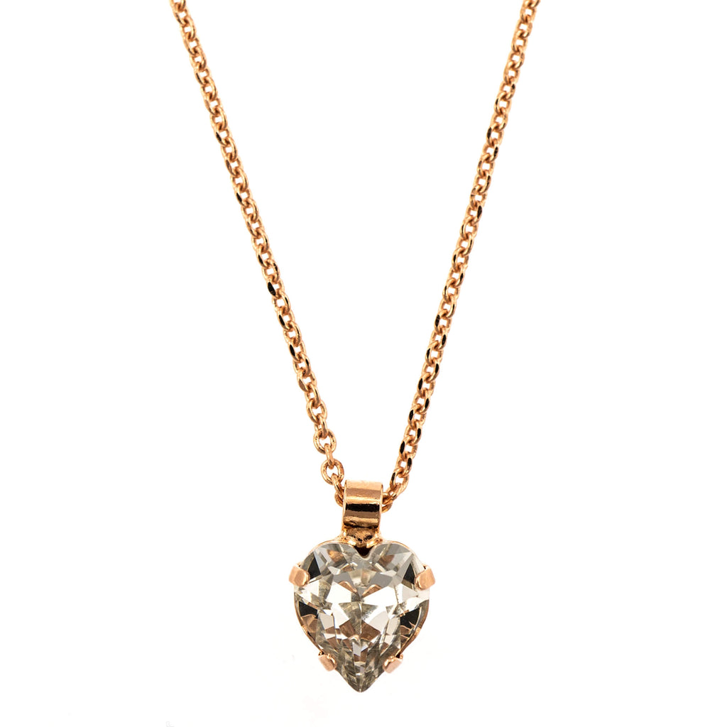 Mariana Rose Gold Plated Pendant Necklace | Roxanne's Jewellery | 001RG