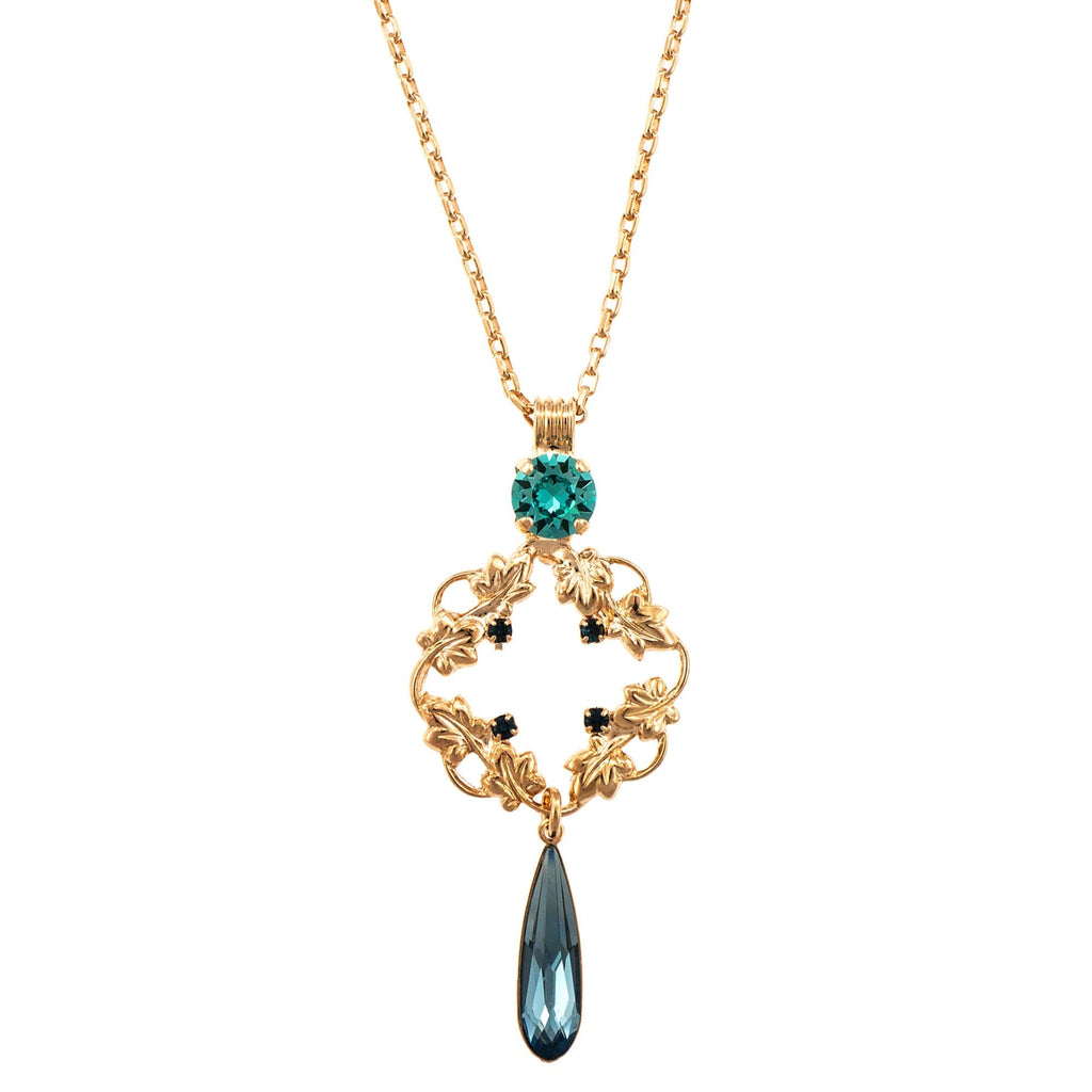 Mariana Rose Gold Plated Pendant Necklace | Roxanne's Jewellery | 1114RG