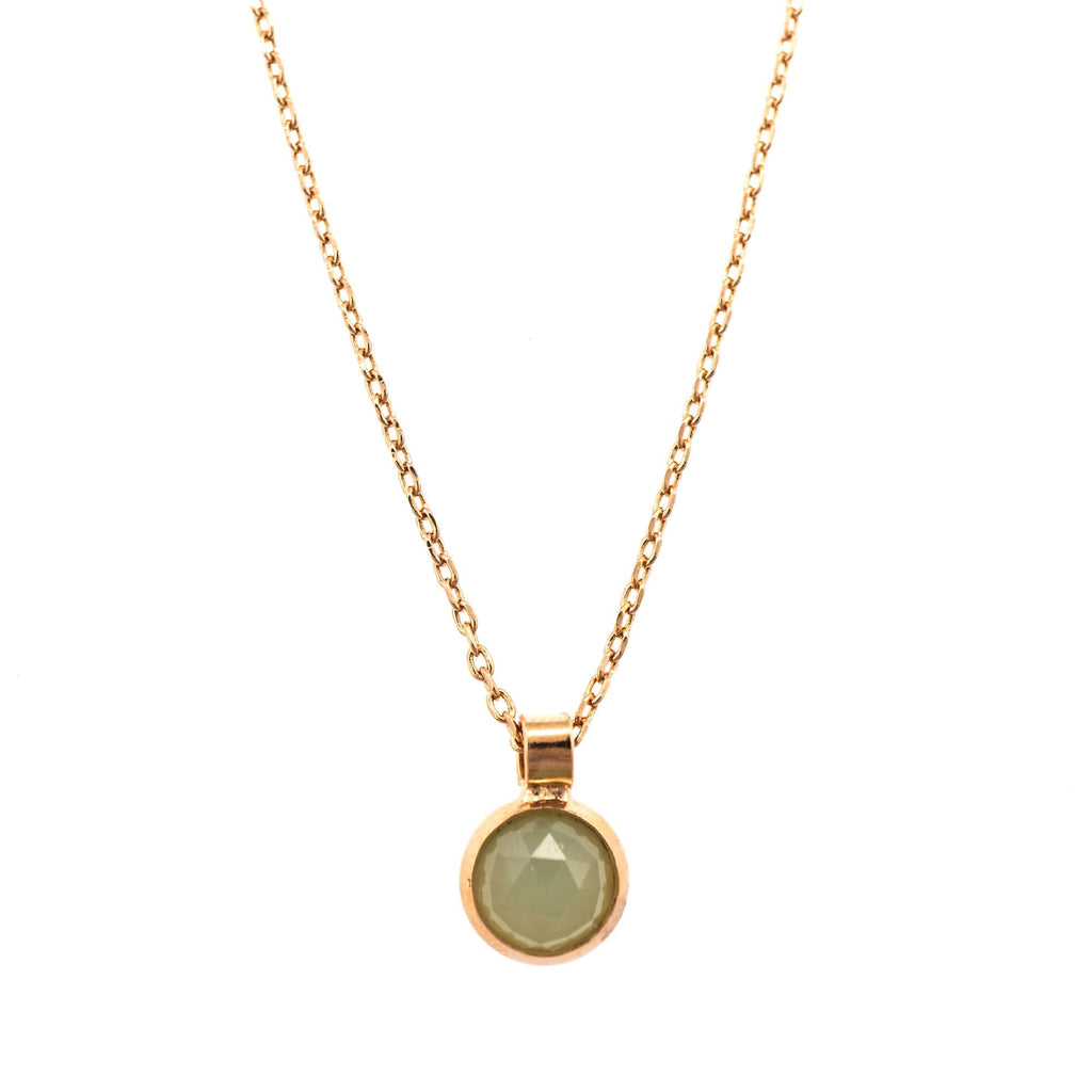 Mariana Rose Gold Plated Pendant Necklace | Roxanne's Jewellery | M62RG