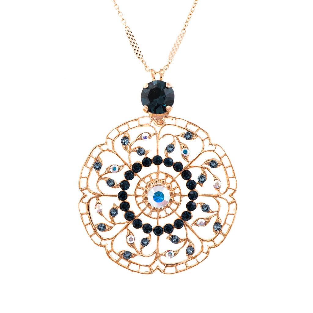 Mariana Rose Gold Plated Pendant Necklace | Roxanne's Jewellery | 1069RG