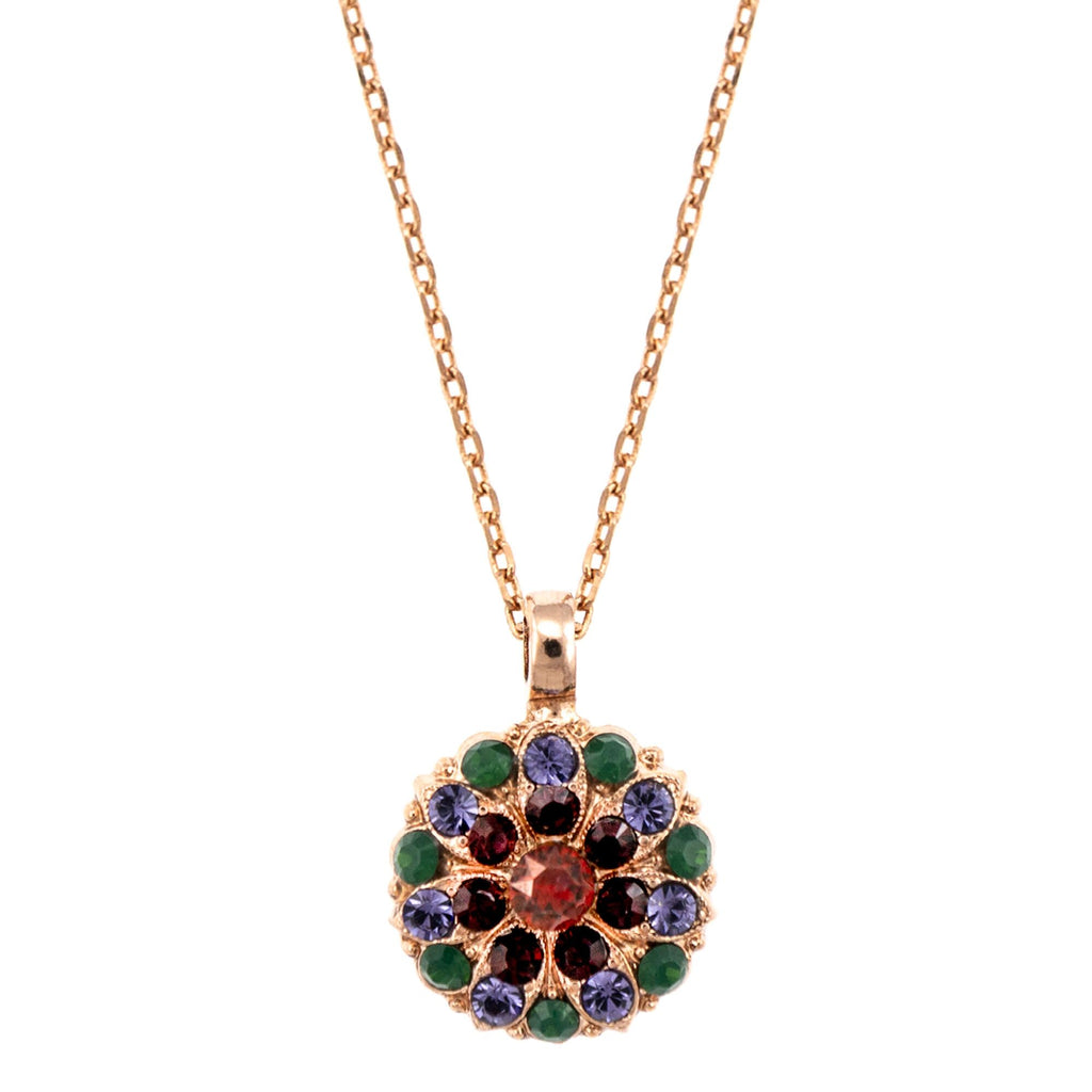 Mariana Rose Gold Plated Pendant Necklace | Roxanne's Jewellery | 1003RG