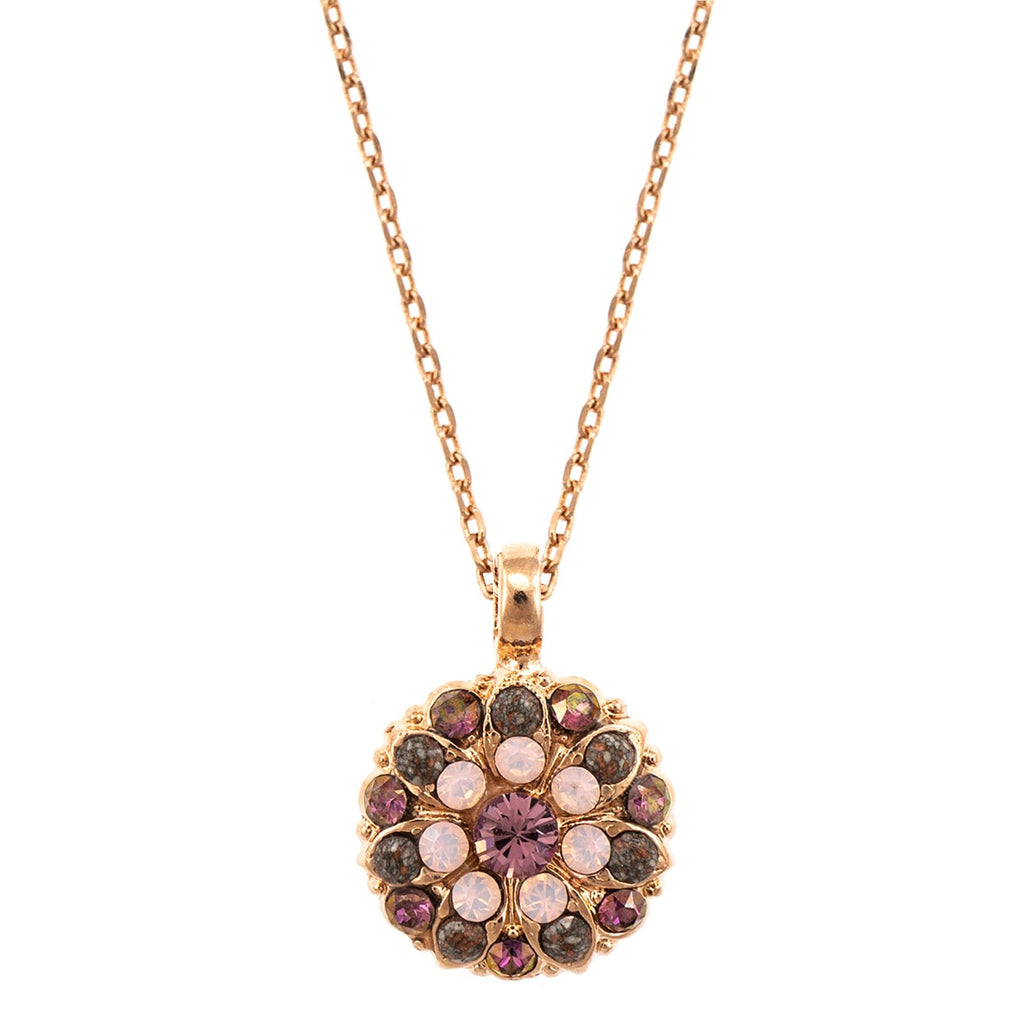 Mariana Rose Gold Plated Pendant Necklace | Roxanne's Jewellery | 1022RG