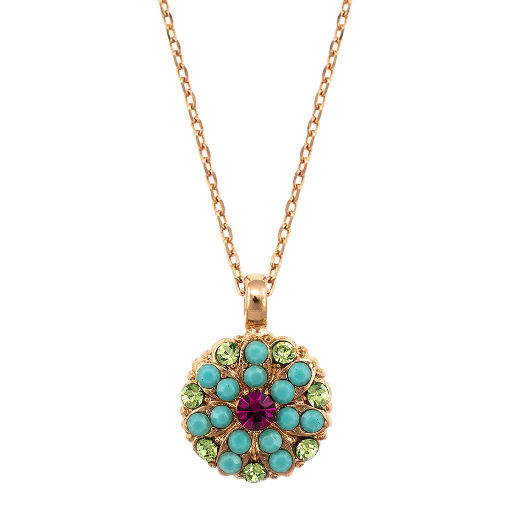 Mariana Rose Gold Plated Pendant Necklace | Roxanne's Jewellery | 333RG