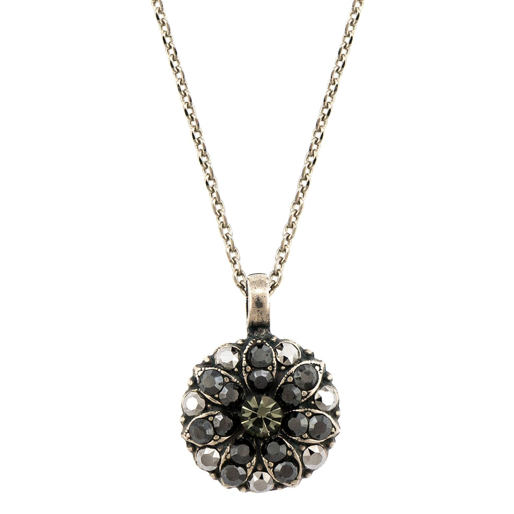 Mariana Silver Plated Pendant Necklace | Roxanne's Jewellery | 747SP