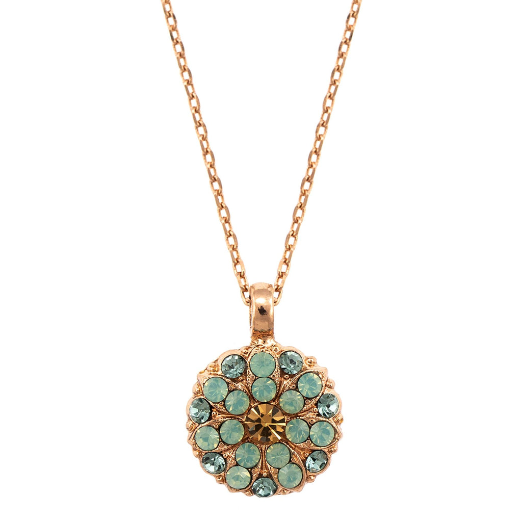 Mariana Rose Gold Plated Pendant Necklace | Roxanne's Jewellery | 812RG