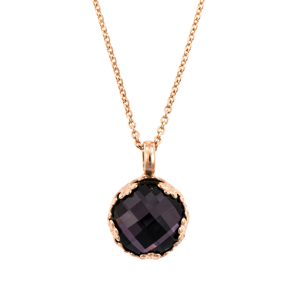Mariana Rose Gold Plated Pendant Necklace | Roxanne's Jewellery | 204ARG
