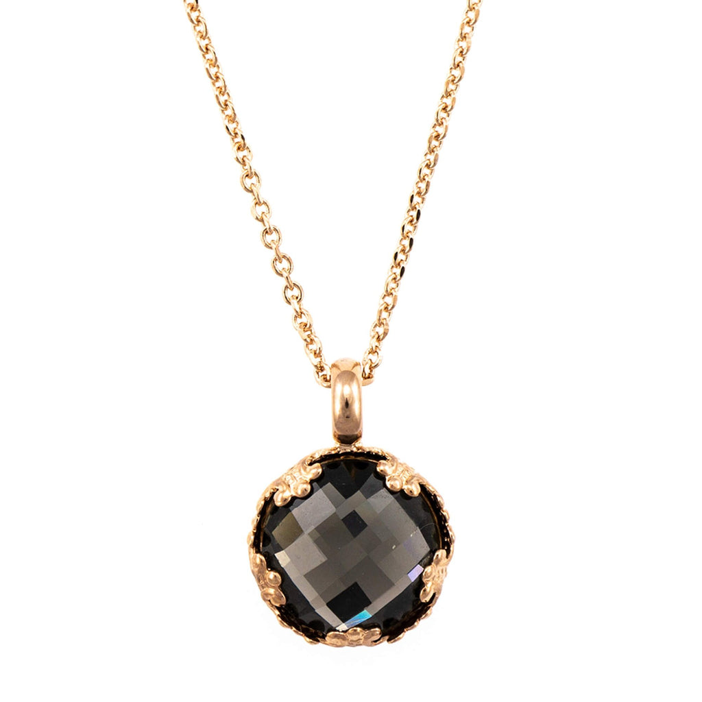 Mariana Rose Gold Plated Pendant Necklace | Roxanne's Jewellery | 215ARG