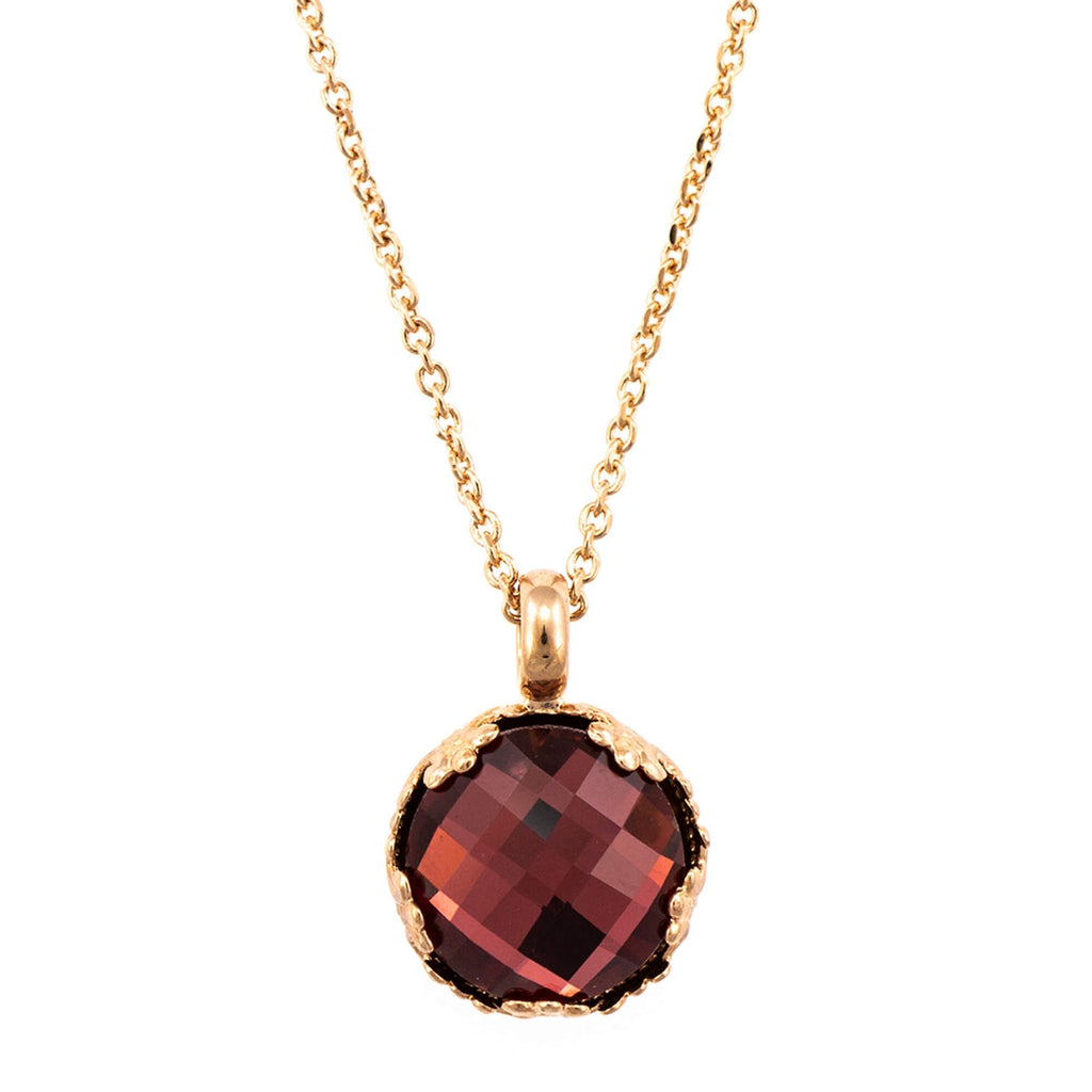 Mariana Rose Gold Plated Pendant Necklace | Roxanne's Jewellery | 515ARG