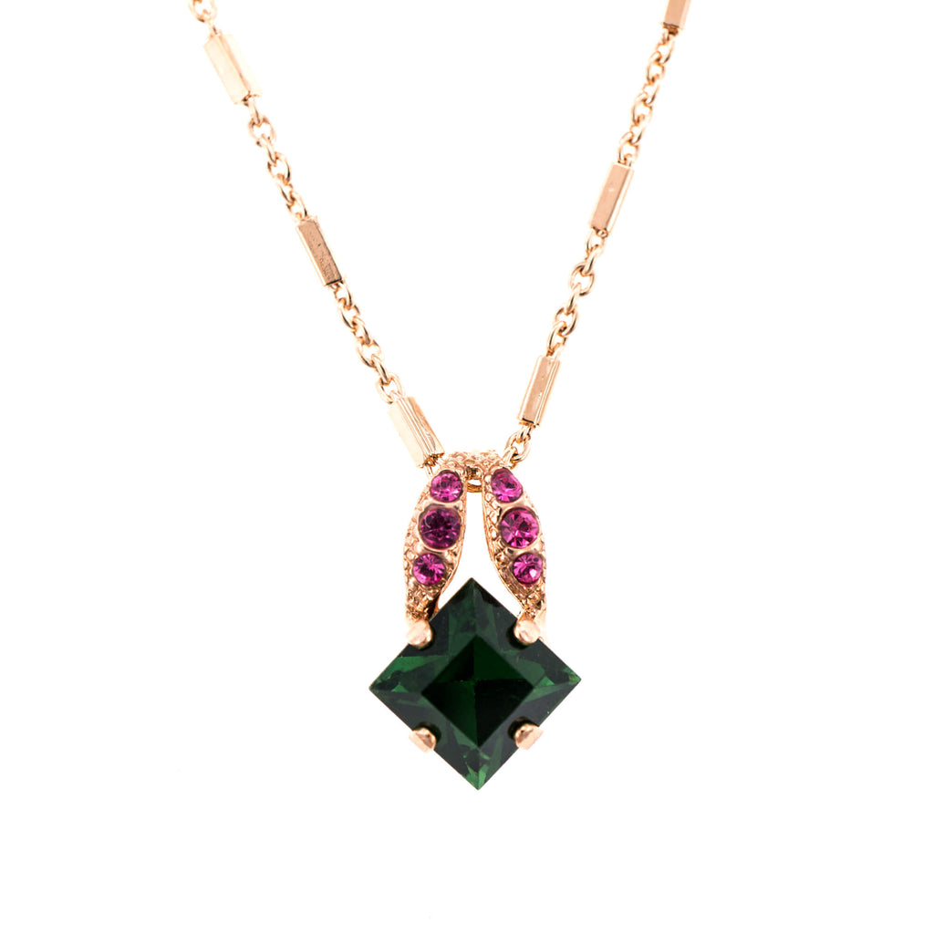 Mariana Rose Gold Plated Pendant Necklace | Roxanne's Jewellery | 1033RG