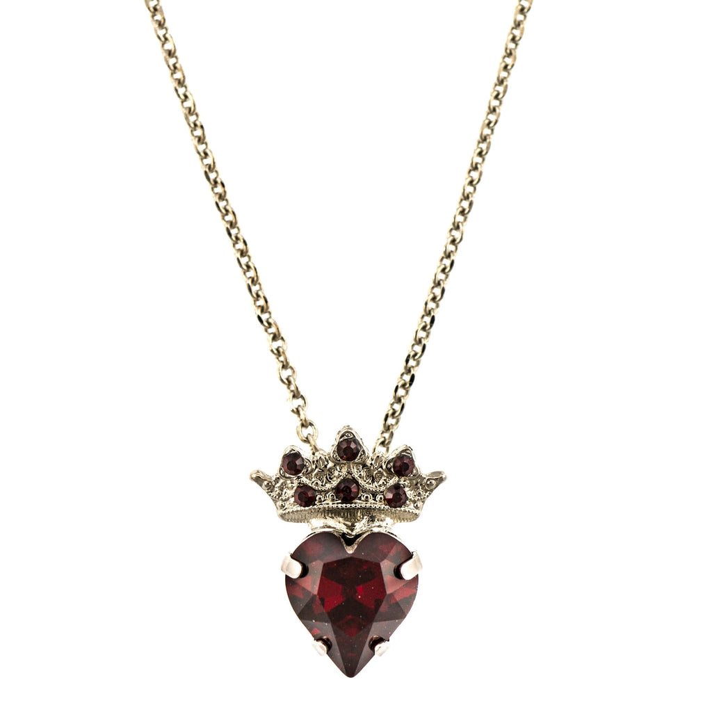 Mariana Rhodium Plated Pendant Necklace | Roxanne's Jewellery | 208208RO