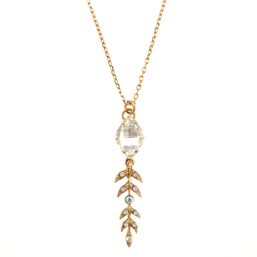 Mariana Rose Gold Plated Pendant Necklace | Roxanne's Jewellery | 1112RG