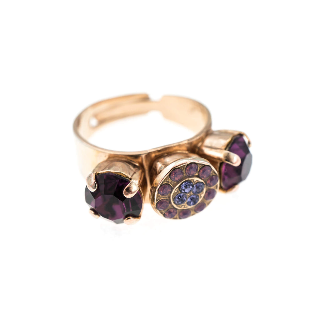 Mariana Rose Gold Plated Ring | Roxanne's Jewellery | 20453RG